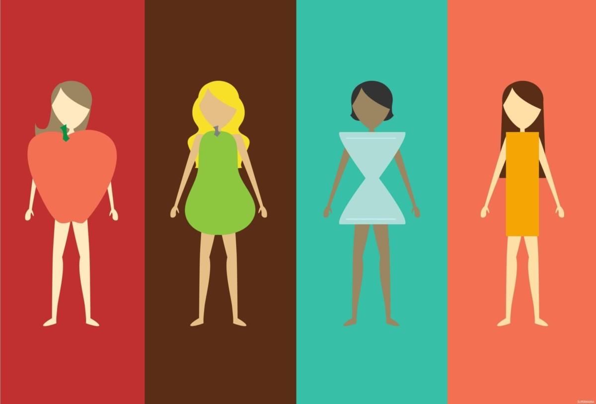 هل لديك مقدار وزنك و طولك بالتحديد ؟ إذا تعرفي على شكل جسمك