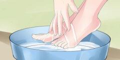 أبرز طرق العناية بالأقدام
