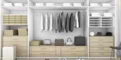 طرق ترتيب خزانة الملابس