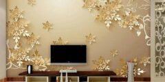 لربات المنازل .. كيف أنظف ورق الجدران ؟