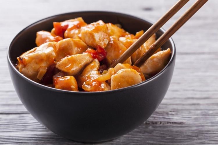 الطهي بالطريقة الصينية