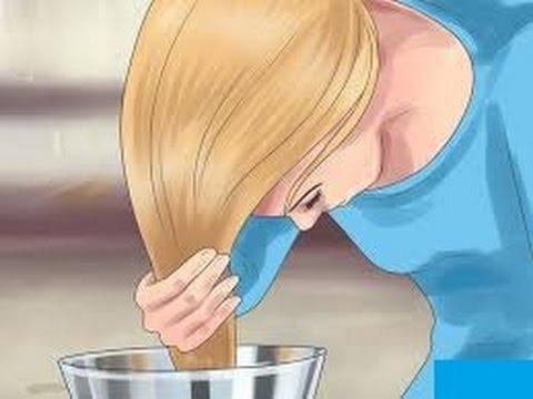 كيف أشقر شعر الجسم