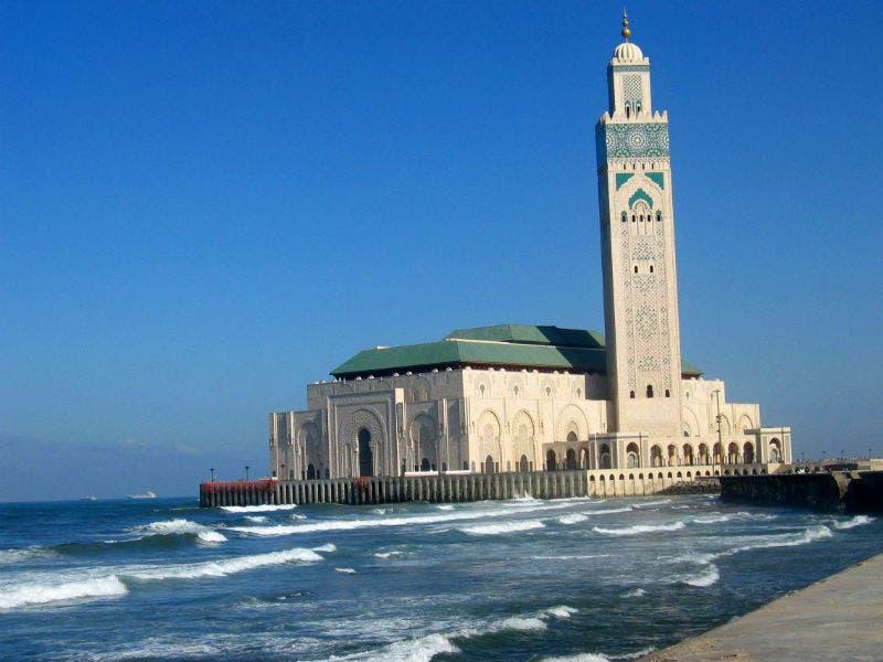 مسجد الحسن الثاني بالمغرب، تحفة معمارية على البحر
