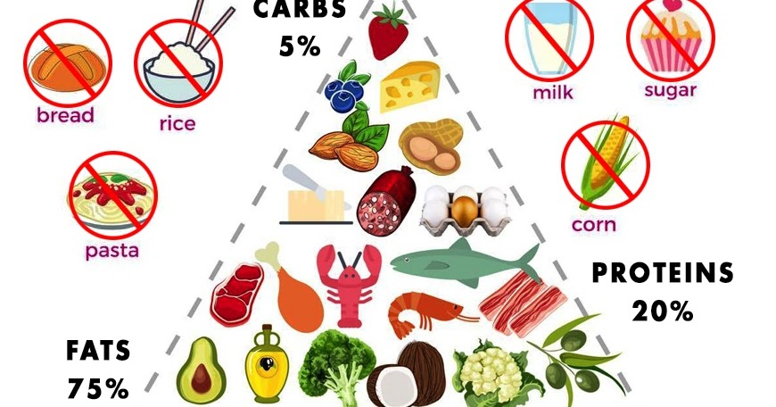 الأكلات المسموحة في نظام الكيتو دايت