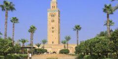 جامع الكتبية بمدينة مراكش المغربية
