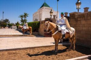 محمد الخامس فارسين 300x199 - السياحة في المغرب : ضريح محمد الخامس