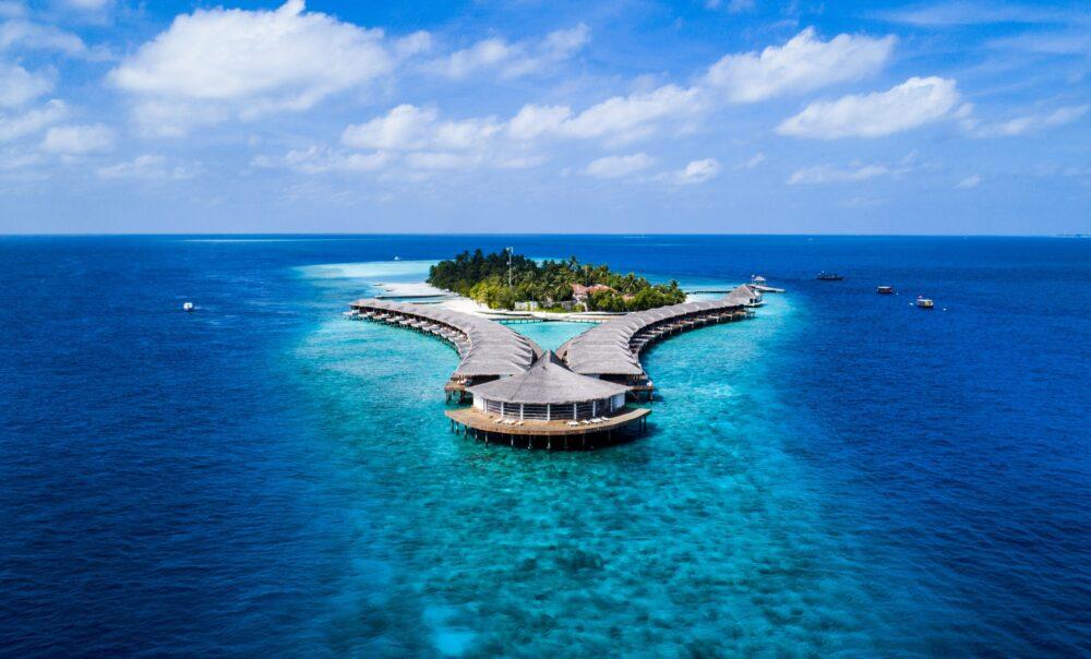 أين تقع جزر المالديف على الخريطة