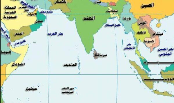 تقع جزر المالديف على الخريطة e1614802658834 - أين تقع جزر المالديف على الخريطة