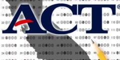طرق اجتياز اختبار ACT
