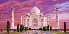 تاج محل من اشهرالمعالم الاثريةفي العالم