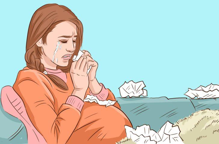 1614974895949 - البكاء و الحمل، هل هناك الكثير من الضرر ؟
