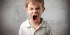 الغضب عند الاطفال