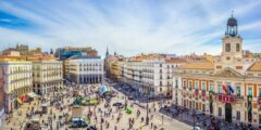 السياحة في مدريد بوابة الشمس بويرتا دي سول