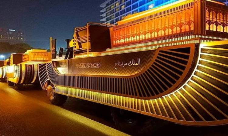 موكب نقل المومياوات المصرية