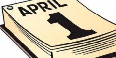 مصدر كذبة فاتح أبريل