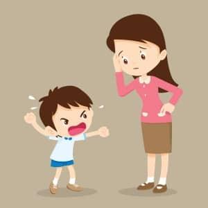 السلوك السيء للاطفال