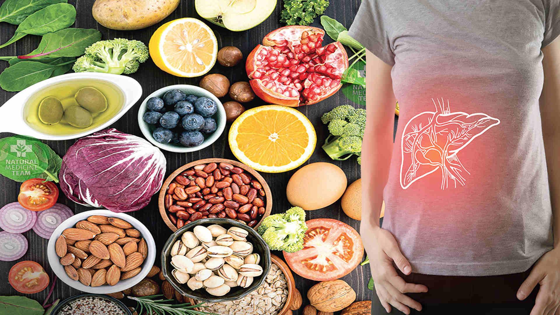 الاطعمة المفيدة للكبد